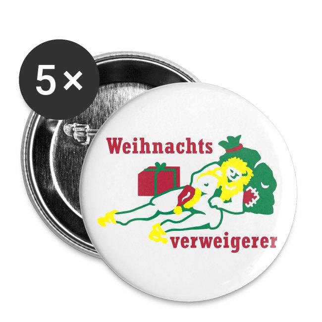 Comic Art and more Design | Buttons Anti Weihnachten - Buttons ...