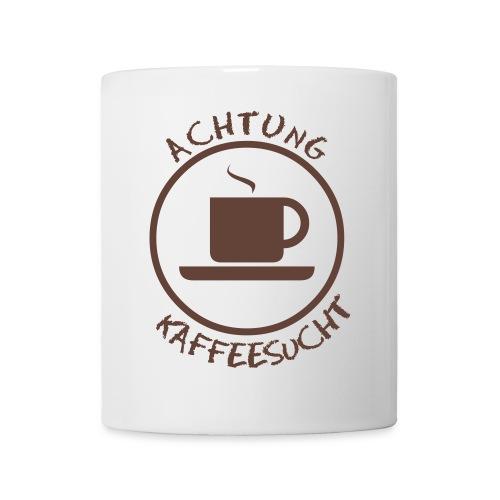 Achtung Kaffeesucht - Tasse