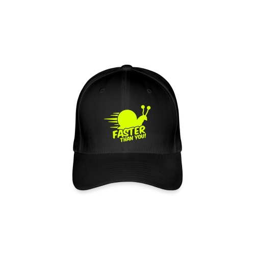 Faster than you baseball cap - Flexfit Baseball Cap