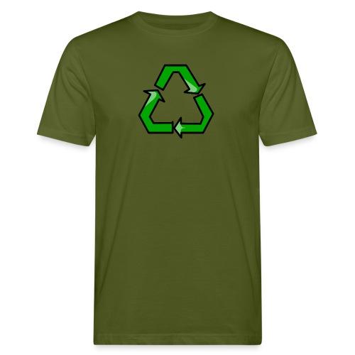 T-shirt ecologica da uomo - riciclo,riciclare,recycle,reciclo,reciclare