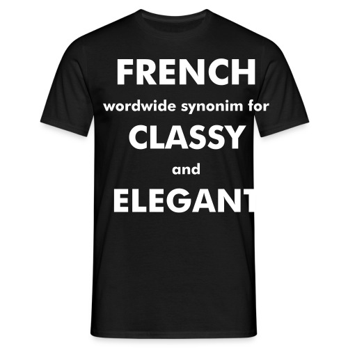 French #First Try - T-shirt Homme