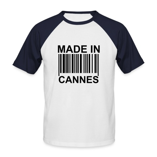 MADE IN CANNES - T-shirt baseball manches courtes Homme