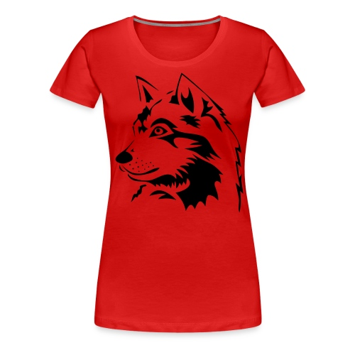 Wolf - Frauen Premium T-Shirt