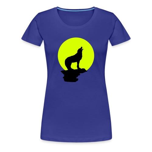Wolfsheulen - Frauen Premium T-Shirt