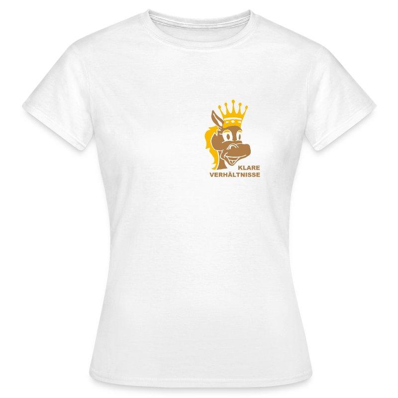 klare Verhältnisse - Frauen T-Shirt