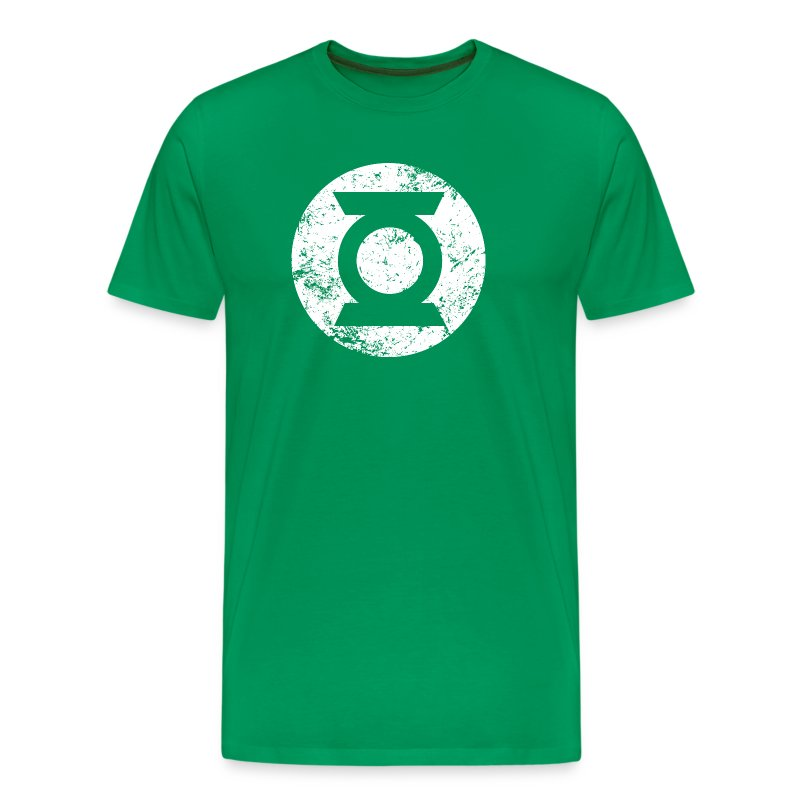 green lantern logo transparent m nner t shirt superhelden t shirt t shirt spreadshirt. Black Bedroom Furniture Sets. Home Design Ideas