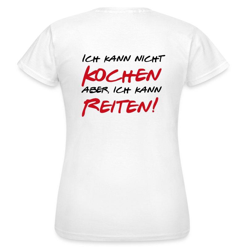 Ich kann nicht kochen t shirt for Was kann ich kochen