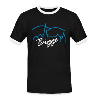 T-Shirts ~ Männer Kontrast-T-Shirt ~ Bigge 07/13