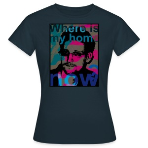 Snowden - Where is my home now? Frauen t-shirt - Frauen T-Shirt