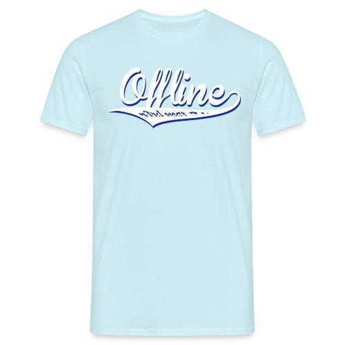 Offline - Männer T-Shirt