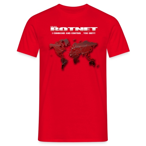 Botnet - Command and Control - Männer T-Shirt