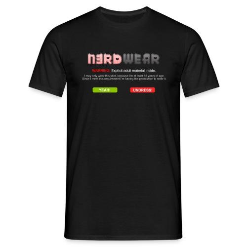 N3RD WEAR - Explicit - Männer T-Shirt