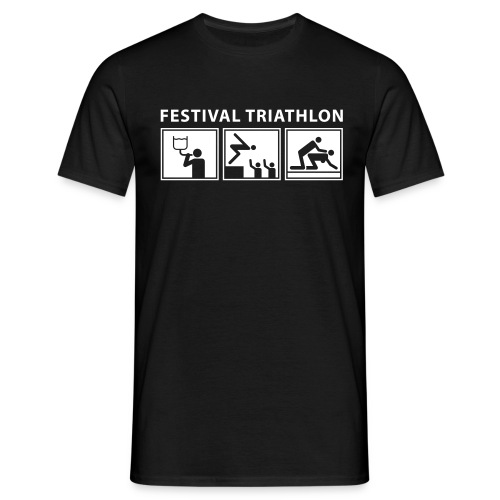 Festival sports - Triathlon - Men's T-Shirt