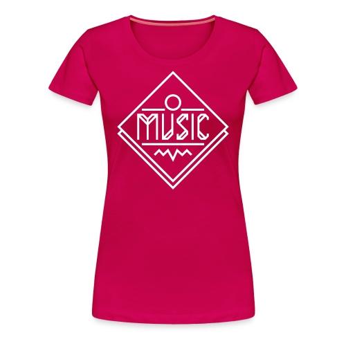 music femme - T-shirt Premium Femme