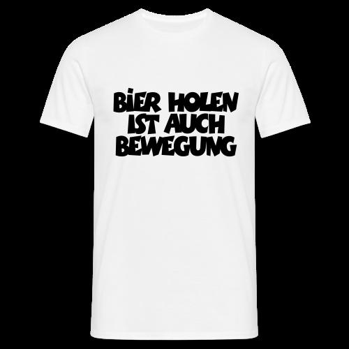 Bier holen Fitness T-Shirt - Männer T-Shirt