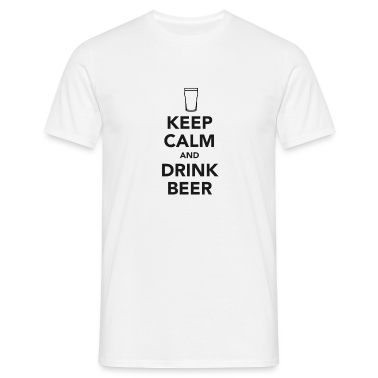 Keep Calm and Drink Beer T-Shirts