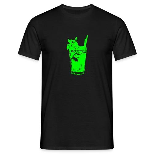 T shirt con bicchiere  new look - Maglietta da uomo