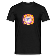 T-Shirts ~ Men's T-Shirt ~ Powerfull Sri Yantra