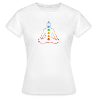 T-Shirts ~ Women's T-Shirt ~ The Chakras in Meditation