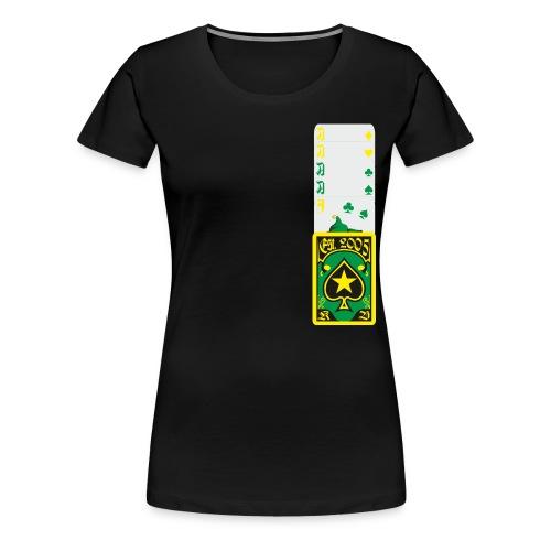 Aces High - Frauen Premium T-Shirt