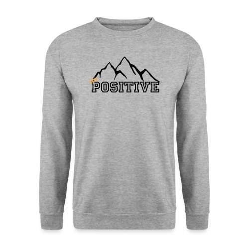 POSITIVE CREWNECK (grey) - Herrtröja