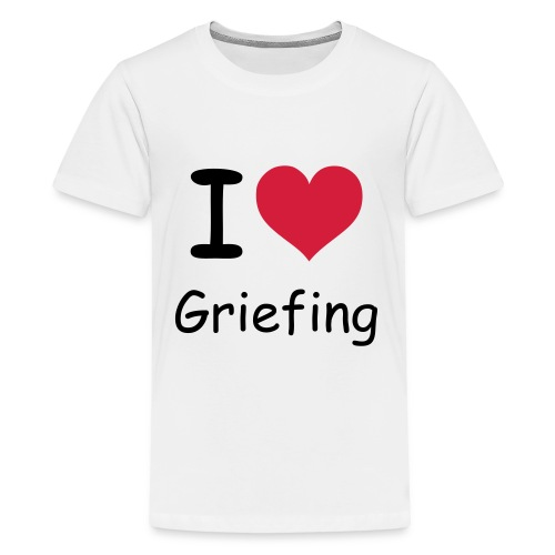 Griefing T-Shirt [Teenager] - Teenager Premium T-Shirt