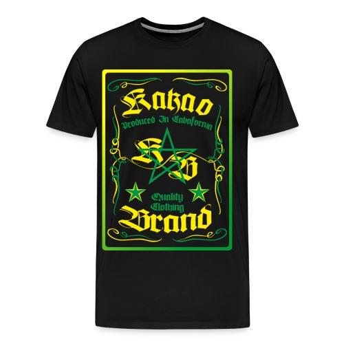 Kakao Whiskey - Männer Premium T-Shirt