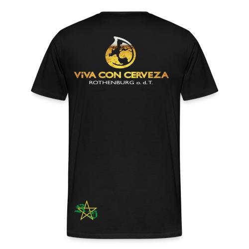 Viva Con Cerveza - Männer Premium T-Shirt