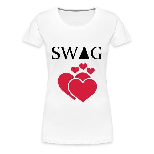 Swag t-shirt #1 - T-shirt Premium Femme