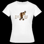 T-Shirts ~ Frauen T-Shirt ~ Wer in der Herde