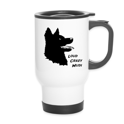 Crazy Mudi Mug - Travel Mug