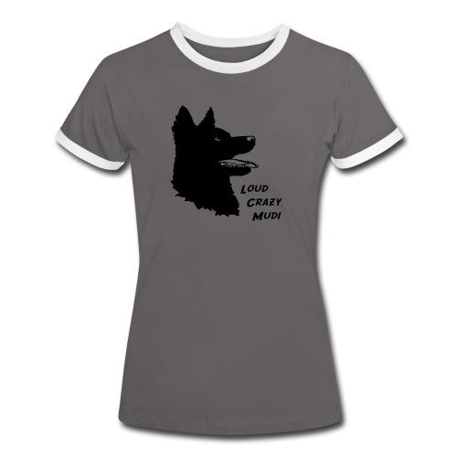 Crazy Mudi Woman T-shirt - Women's Ringer T-Shirt