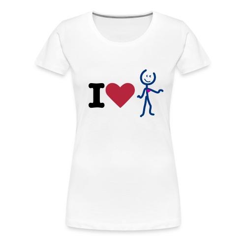 I love Aidy Femme - T-shirt Premium Femme