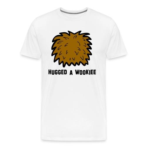Ich bin männlich wie ein Wookie T-Shirt - Männer Premium T-Shirt