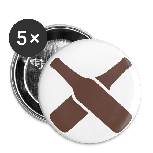 Feeest batch  - Buttons/Badges lille, 25 mm (5-pack)