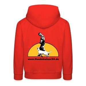 Kinderpullover rot - Kinder Premium Hoodie