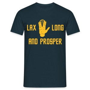 Lax Long and Prosper 2 - Männer T-Shirt