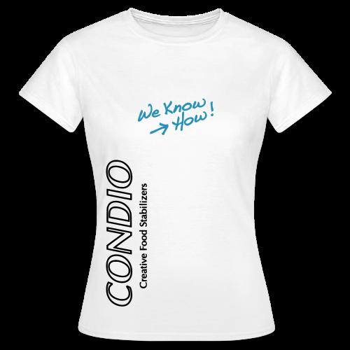 CONDIO - We know How Mädchen Home - Women's T-Shirt