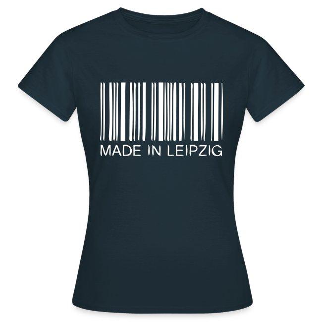 Made in Leipzig T-Shirt Damen schwarz