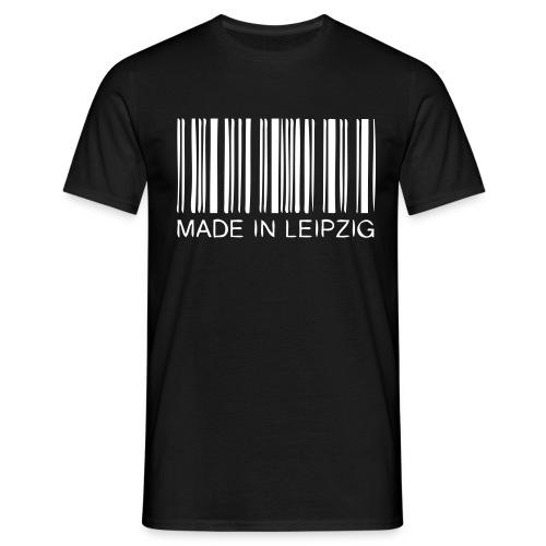 Made in Leipzig T-Shirt Herren schwarz - Männer T-Shirt