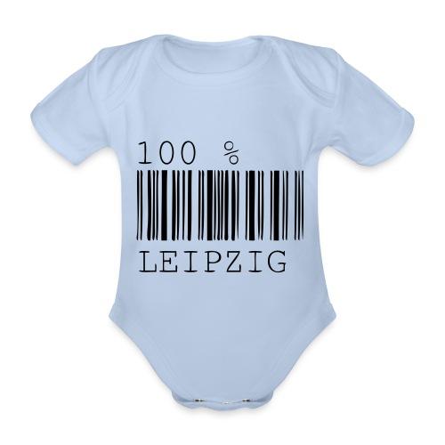100% Leipzig - Baby Bio-Kurzarm-Body