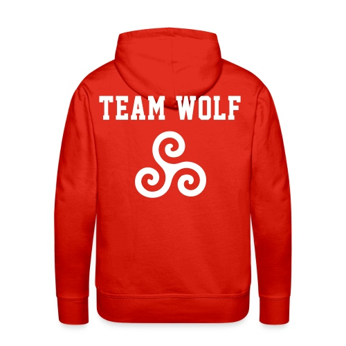 Team WOLF - Hoodie (XL Logo, NBL) - Men's Premium Hoodie