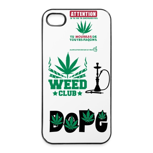 Coque Cannabis  4\4S - Coque rigide iPhone 4/4s