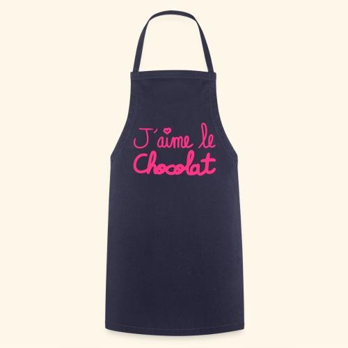 j'aime le chocolat - Tablier de cuisine