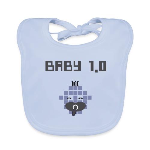 Bavoir Little Baby Geek - Baby 1.0 - Bavoir bio Bébé