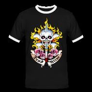 Tee shirts ~ Tee shirt contraste Homme ~ Numéro de l'article 25061370