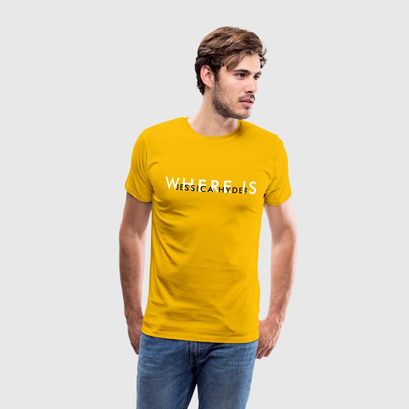 Where is Jessica Hyde? (Utopia) - Men's Premium T-Shirt
