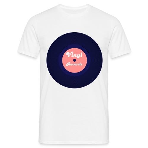 TeeShirt vintage vinyl - T-shirt Homme