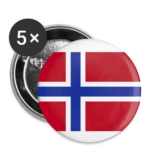 Norway - Stor pin 56 mm (5-er pakke)