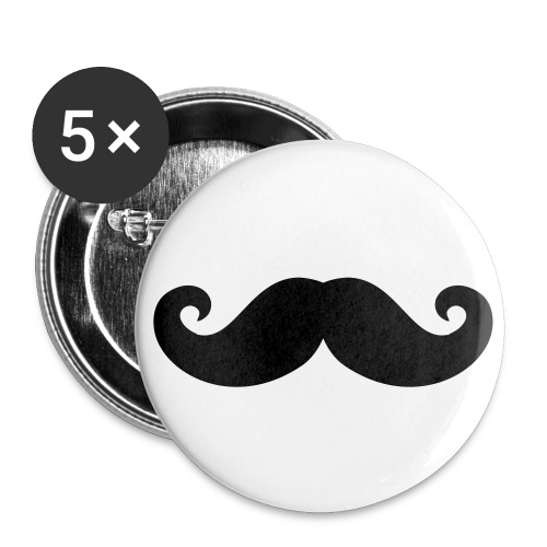 Pins - Små knappar 25 mm (5-pack)